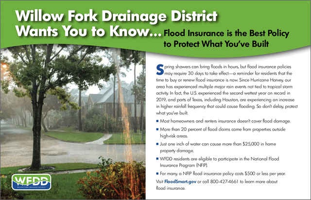 Flood Insurance is the Best Policy to Protect What You've Built